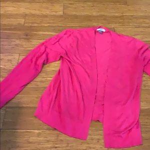 Hoy pink cardigan